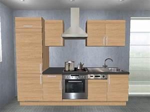 Küchenzeile 360 Cm Mit Elektrogeräten : k chenzeile 260 cm mit elektroger ten hause deko ideen ~ Bigdaddyawards.com Haus und Dekorationen