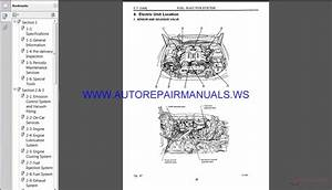 Subaru Svx C10 1993 Service Manual