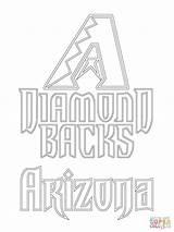 Arizona Coloring Diamondbacks Baseball Az Cardinals Printable Wildcats Mlb Diamond Backs Sheets Supercoloring Paper Dot Super Chicago Cif Drawing Games sketch template