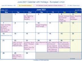 print friendly june  eu calendar  printing