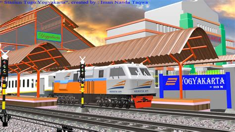 Maybe you would like to learn more about one of these? Iman Railfans Animations: Modelling 3D Animasi
