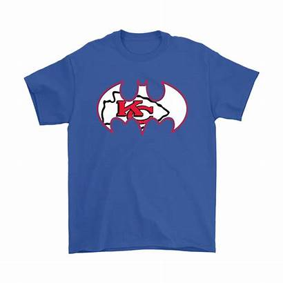 Chiefs Kansas Nfl Shirts Mashup Batman