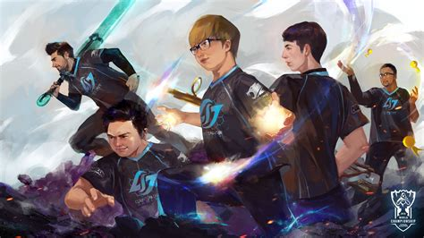 Anime Team Wallpapers - 16 teams 16 artists worlds wallpapers are here league