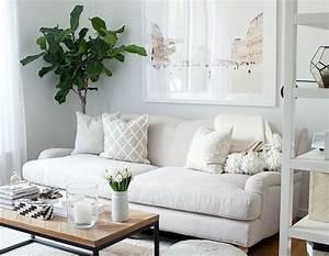 Beige, Sofa, Living, Room, U2013, Layjao