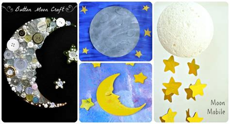20 space themed crafts with children 133 | night sky crafts moon planets stars cosmos for children 2