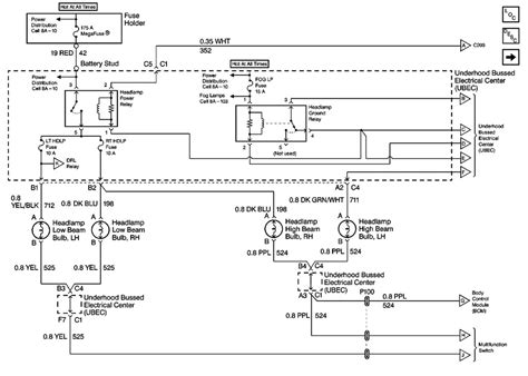 Headlight Wiring Diagram Forum