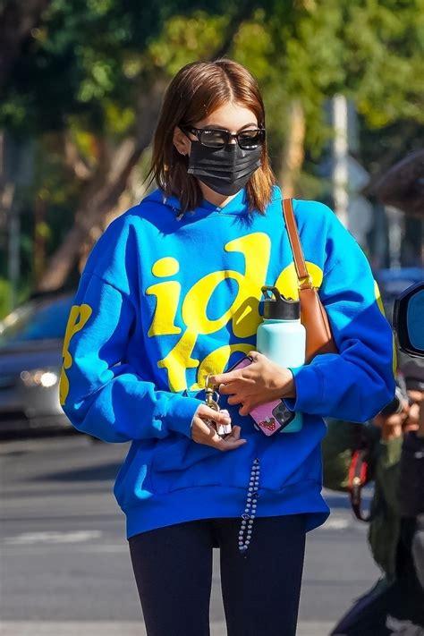 Kaia Gerber At a pilates class in West Hollywood - Celebzz ...