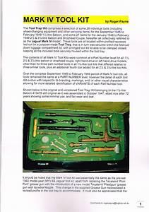 Jaguar Mark Iv Tool Kit Manual - Classifieds