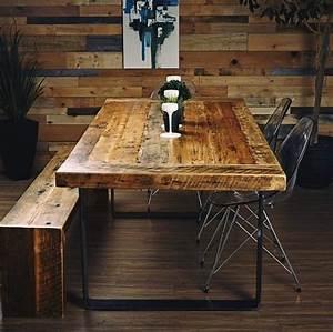 20 adresses de deco rustique et industrielle au quebec With meuble de cuisine rustique 9 table de cuisine bois gallery of table de cuisine ronde