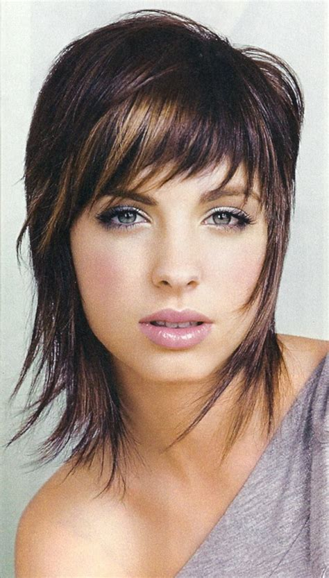 medium length shaggy haircuts for women