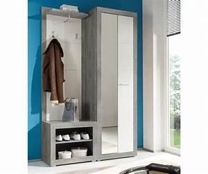 Garderobe Sitzbank Weiß : garderobe shandor weiss hochglanz grau 120x195 sitzbank ~ A.2002-acura-tl-radio.info Haus und Dekorationen