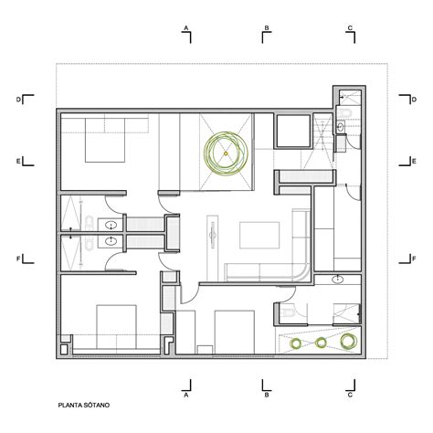 house plans with finished basement gallery of p12 house martin dulanto 44
