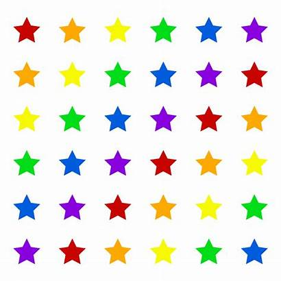 Graphic Stars Star Elements Alignment Inkscape Colored