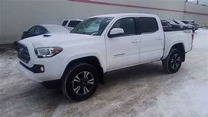 2017 Toyota Tacoma Double Cab Trd Sport Manual