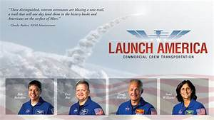 Four Astronauts Selected for Commercial Crew Flights ...