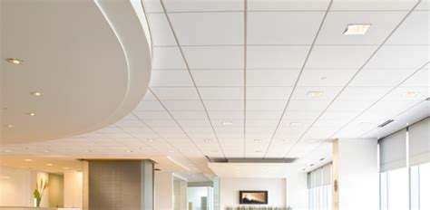 acoustical drop ceiling