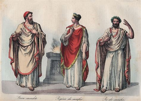 Types And Functions Of The Ancient Roman Priests