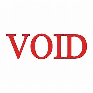 Trodat Printy Red Void Self-Inking Stamps - VOID Message ...