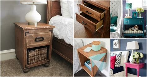 Nightstand Ideas Diy by 30 Amazingly Creative And Easy Diy Nightstand Projects