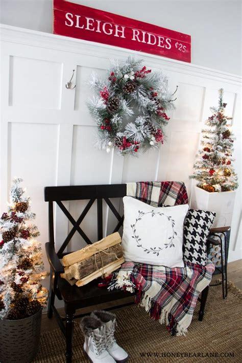 farmhouse style christmas decor ideas honeybear lane