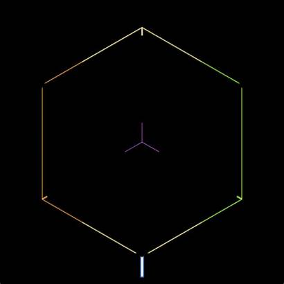 Gifs Infinity Infinite Hexagon Hypnotic Geometry Cube