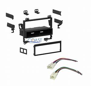 Single Din Car Radio Stereo Dash Kit Wire Harness For 1993