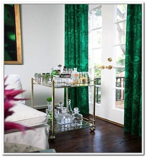 1000 ideas about green curtains on lime green