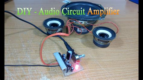 How Make Circuit Amplifier Simple Use Youtube