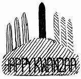 Candelabra Kwanzaa Clipart Cliparts Clip Eric Library Illustration sketch template