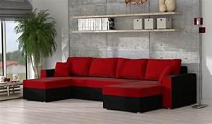 Couchgarnitur U Form : ecksofa sofa couchgarnitur couch rumba style wohnlandschaft mit schlaffunktion und bettkasten ~ Orissabook.com Haus und Dekorationen