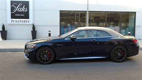S63 Amg Cabriolet by 2017 Mercedes Amg S63 Cabriolet Test Drive Review