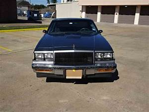 1987 Buick Regal T Type For Sale