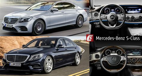 S Class Facelift 2018 by 2018 Mercedes S Class Facelift Takes On 2017 Model In