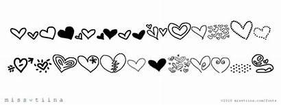 Heart Mtf Doodle Font Fontspace