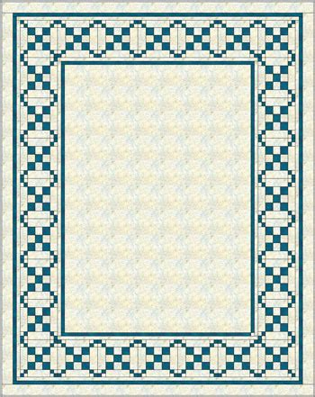 quilt border patterns single chain and knot quilt explore the possibilities