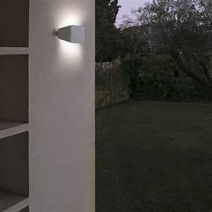 Applique Exterieur Blanc : applique exterieur future blanc faro 71516 ~ Edinachiropracticcenter.com Idées de Décoration