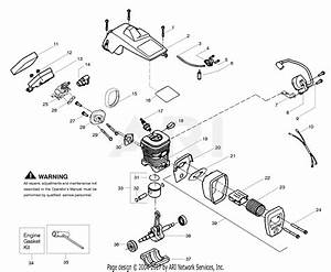 Poulan Bh2160 Poulan Gas Saw Parts Diagram For Engine