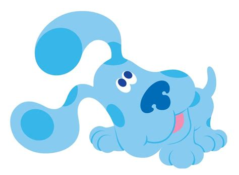 cartoon characters blues clues   blue cartoon