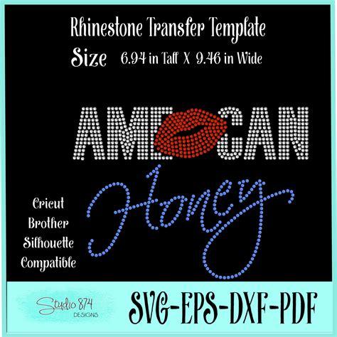 American Honey Svg  – 65+ SVG Cut File