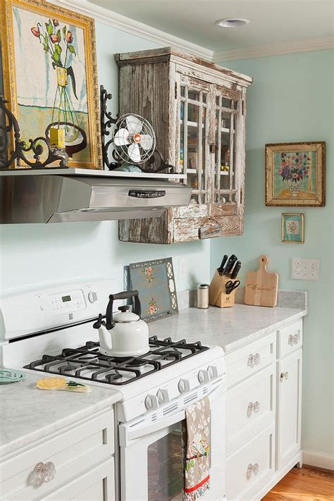 shabby chic painted kitchen cabinets 50 fabulous shabby chic kitchens that bowl you 7911