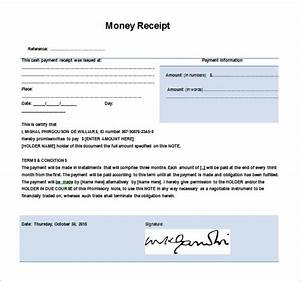 Money receipt template 28 free word excel pdf format for Receipt of funds template