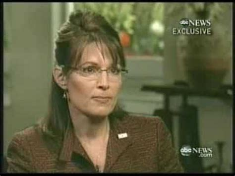 Sarah Palin Abc Interview With Charlie Gibson Part