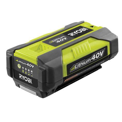 Ryobi 40volt Slim Pack Accessory Batteryop4015a The