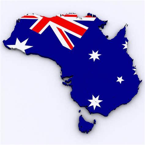 map  australia cgtrader