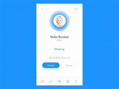 Profile Animation User Ui App Designs Inspiration