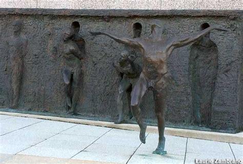 bronze bodies emerge  bronze wall philadelphia