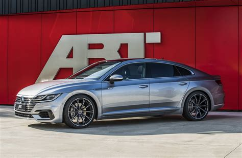 volkswagen arteon volkswagen arteon gets modest updates from abt carscoops