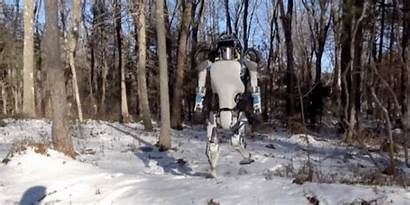 Giant Robot Snow Walk Owned