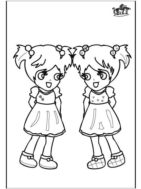 Kleurplaten Meisjes 4 Jaar by Meisjes 3 Kleurplaat Kinderen