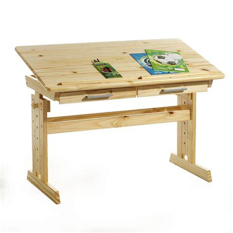 bureau reglable bureau enfant écolier réglable en hauteur et plateau